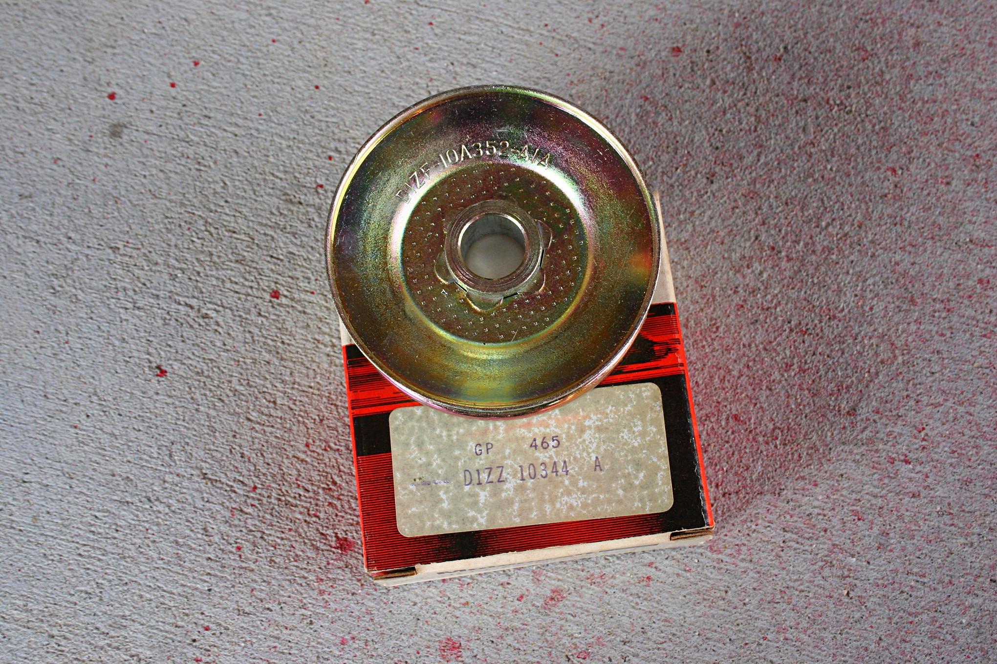 005 Restoration Questions Boss 351 Alternator Pulley