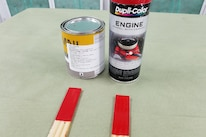 Engine Paint Ford 005