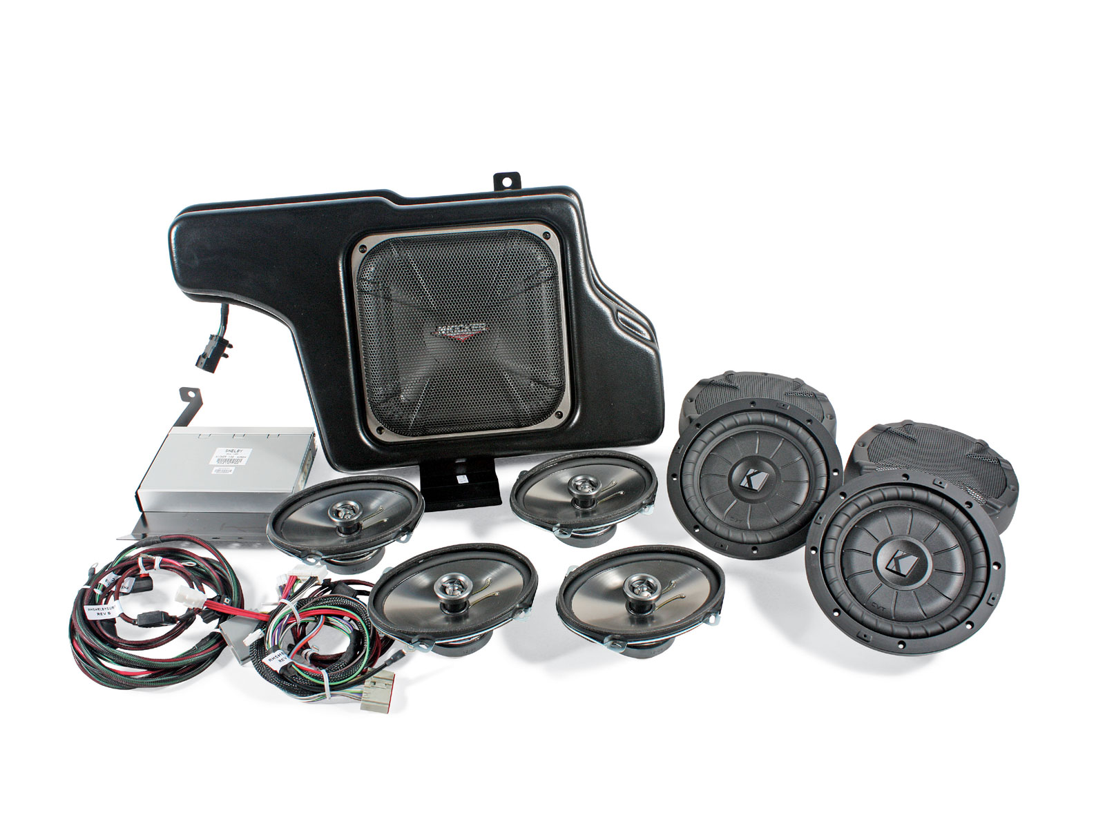 Install Shelby Kicker Sound System Shelby Kicker Sound System
