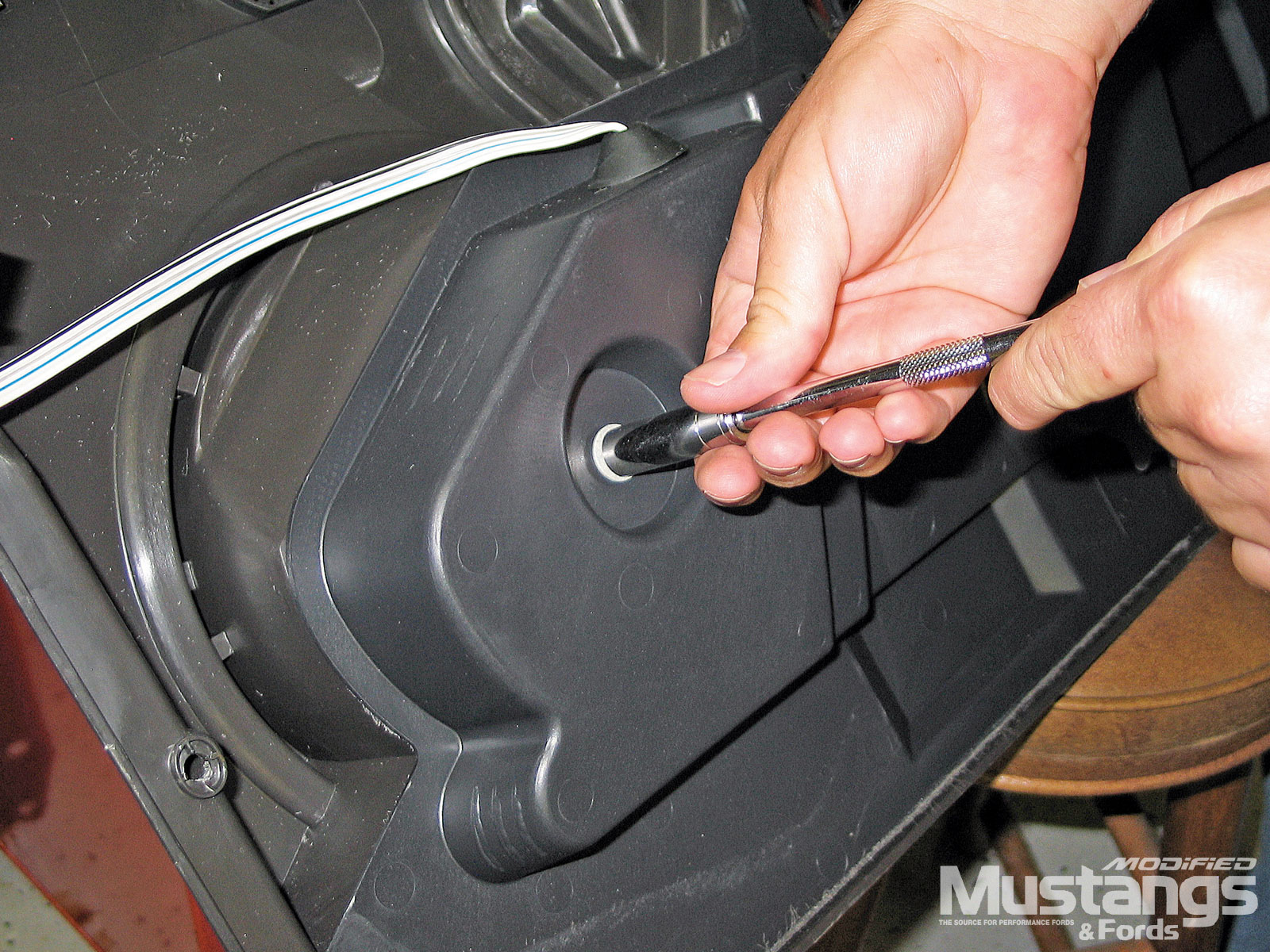 Install Shelby Kicker Sound System Subwoofer Mounts