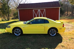 All-Original Zinc Yellow Mustang GT Premium