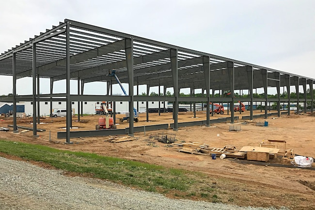Mustang Owners Museum Building Construction May 2018