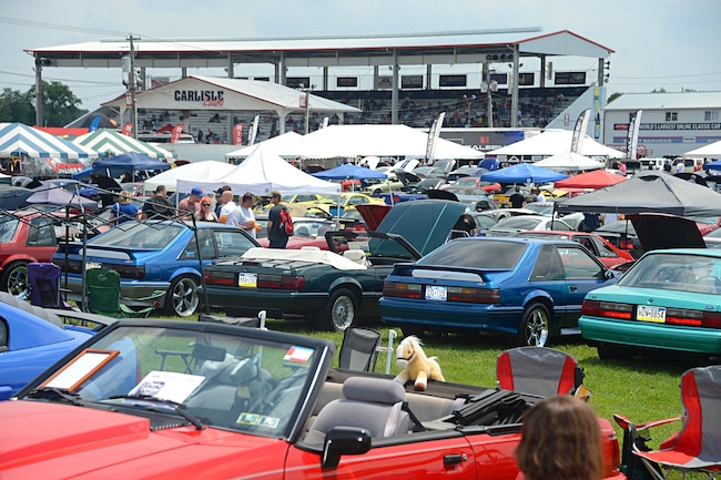 2018 Carlisle Ford Nationals Late Mustangs 001
