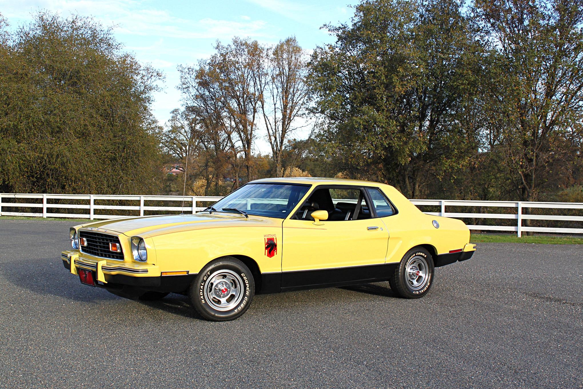 1976 Mustang II Stallion Front Quarter Side