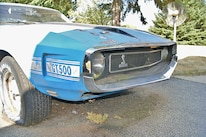 Racoon Ravaged Shelby Mustang 11