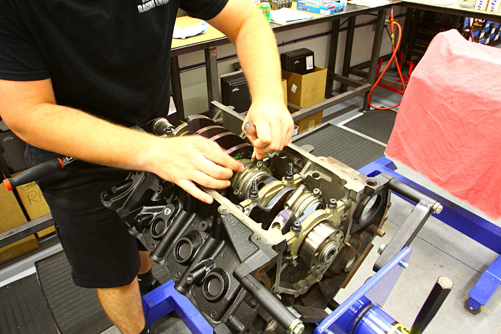 MPR Engine Build 023
