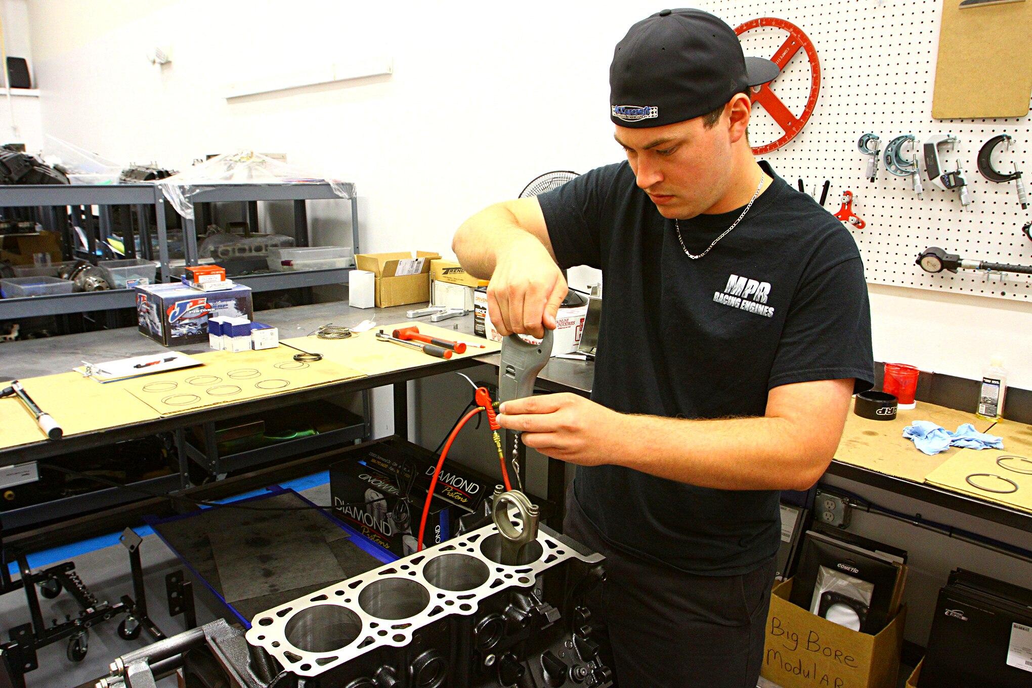 MPR Engine Build 019