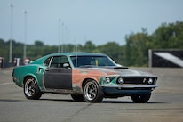 029 1970 Mustang Muscle Rat Rod Rusty Budget