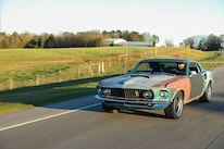 027 1970 Mustang Muscle Rat Rod Cruising Stance