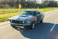 023 1970 Mustang Muscle Rat Rod Driving