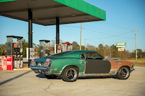 017 1970 Mustang Muscle Rat Rod Gas Station
