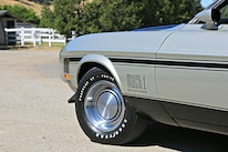Querio 1971 Ford Mustang Mach 1 Front Tire Wheel Fender Detail