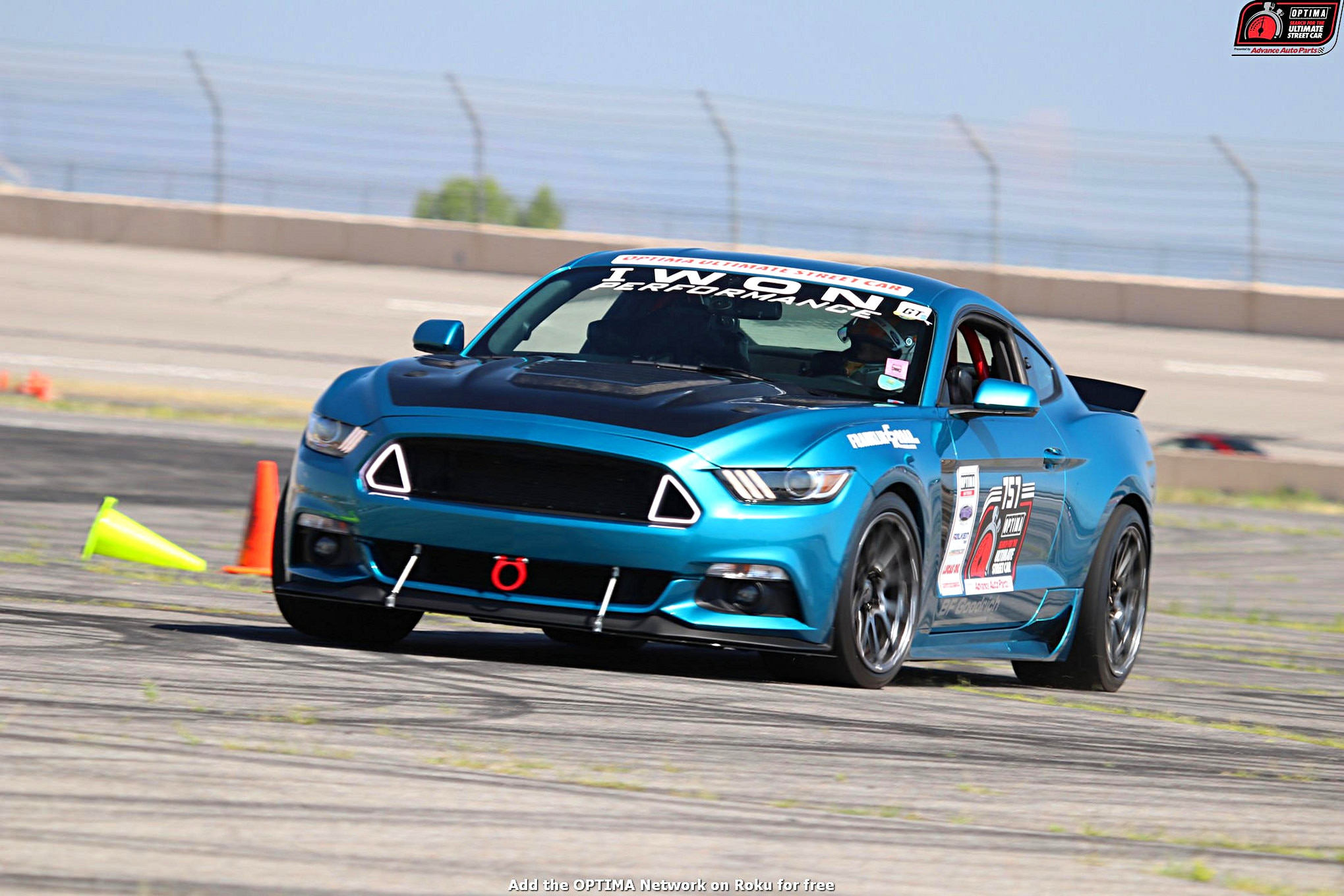 Ron Schoch 2016 Ford Mustang DriveOPTIMA Pikes Peak International Raceway 2018 229