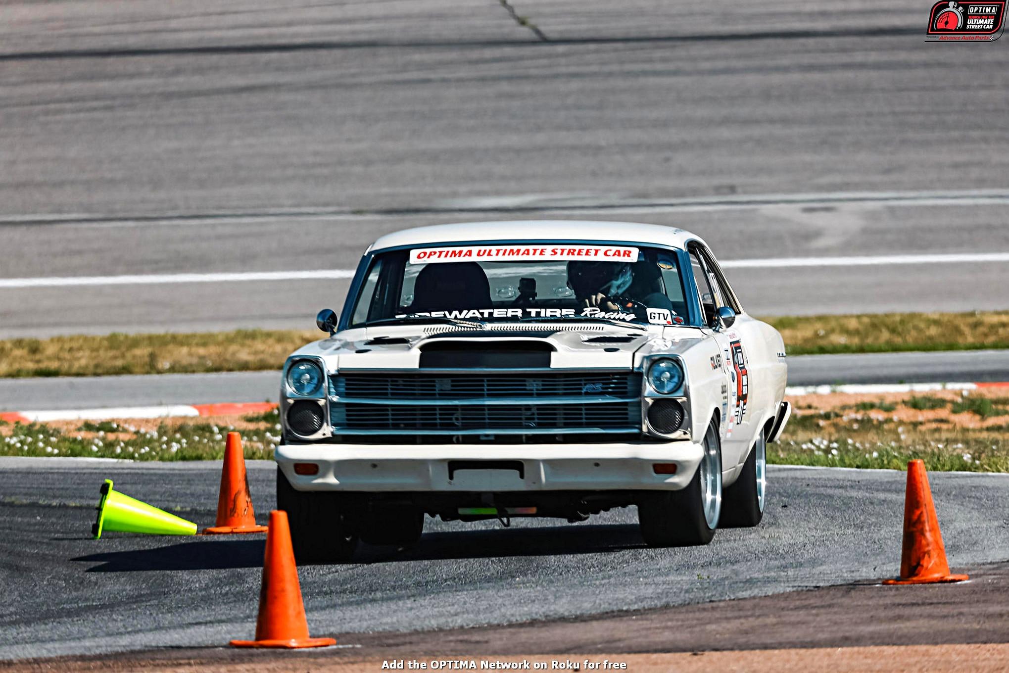 John McKissack 1966 Ford Fairlane DriveOPTIMA Pikes Peak International Raceway 2018 37
