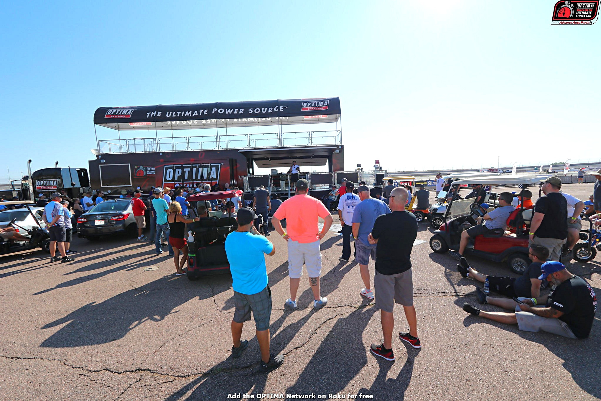 Drivers Meeting DriveOPTIMA Pikes Peak International Raceway 2018 7
