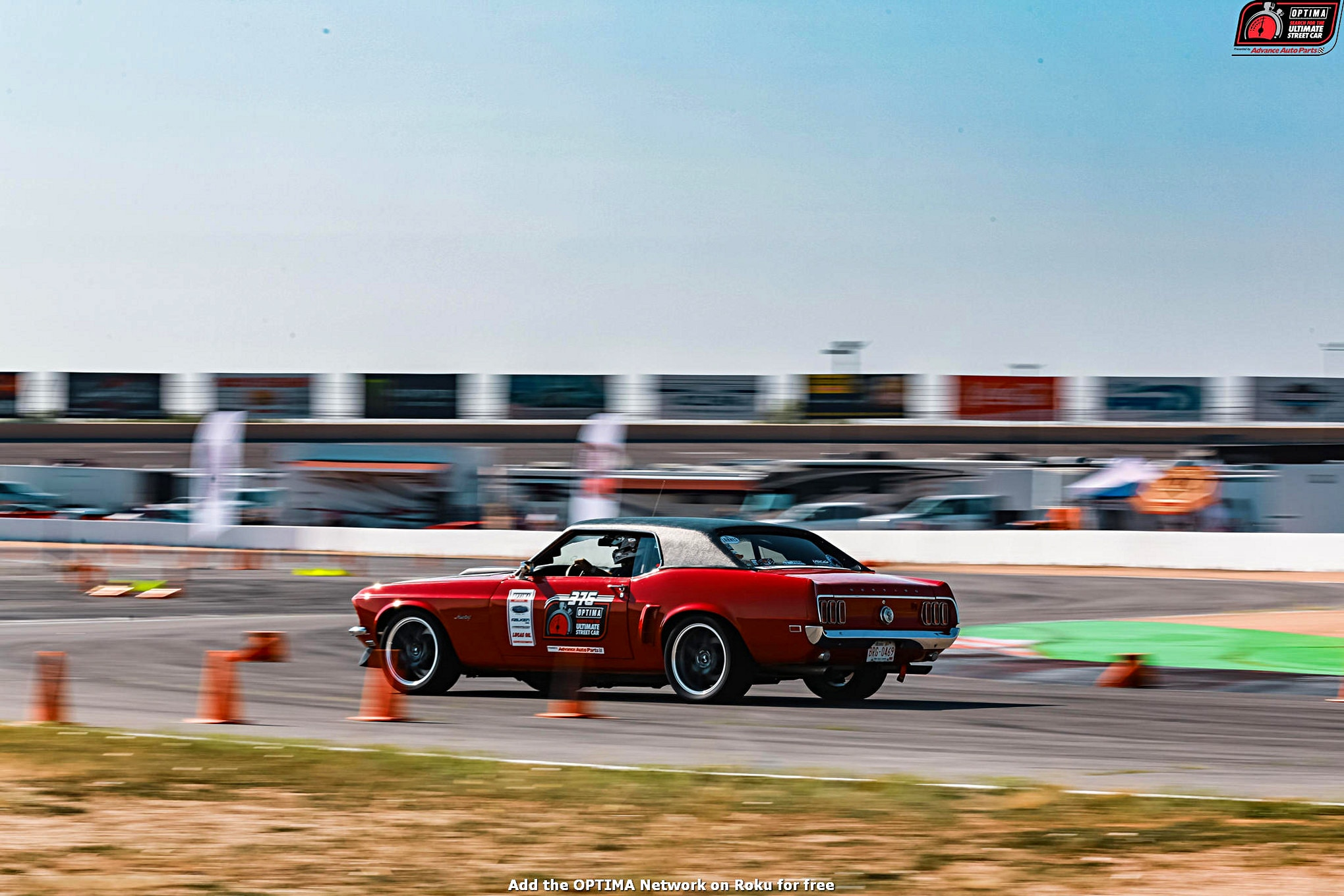 Bob Guido 1969 Ford Mustang DriveOPTIMA Pikes Peak International Raceway 2018 11