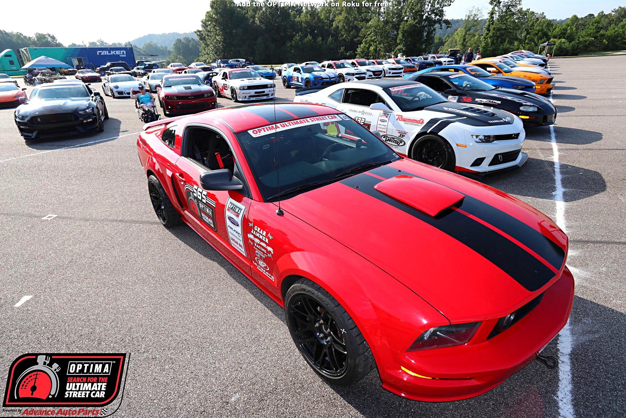 David Griffin 2006 Ford Mustang DriveOPTIMA Barber Motorsports Park 2018 4