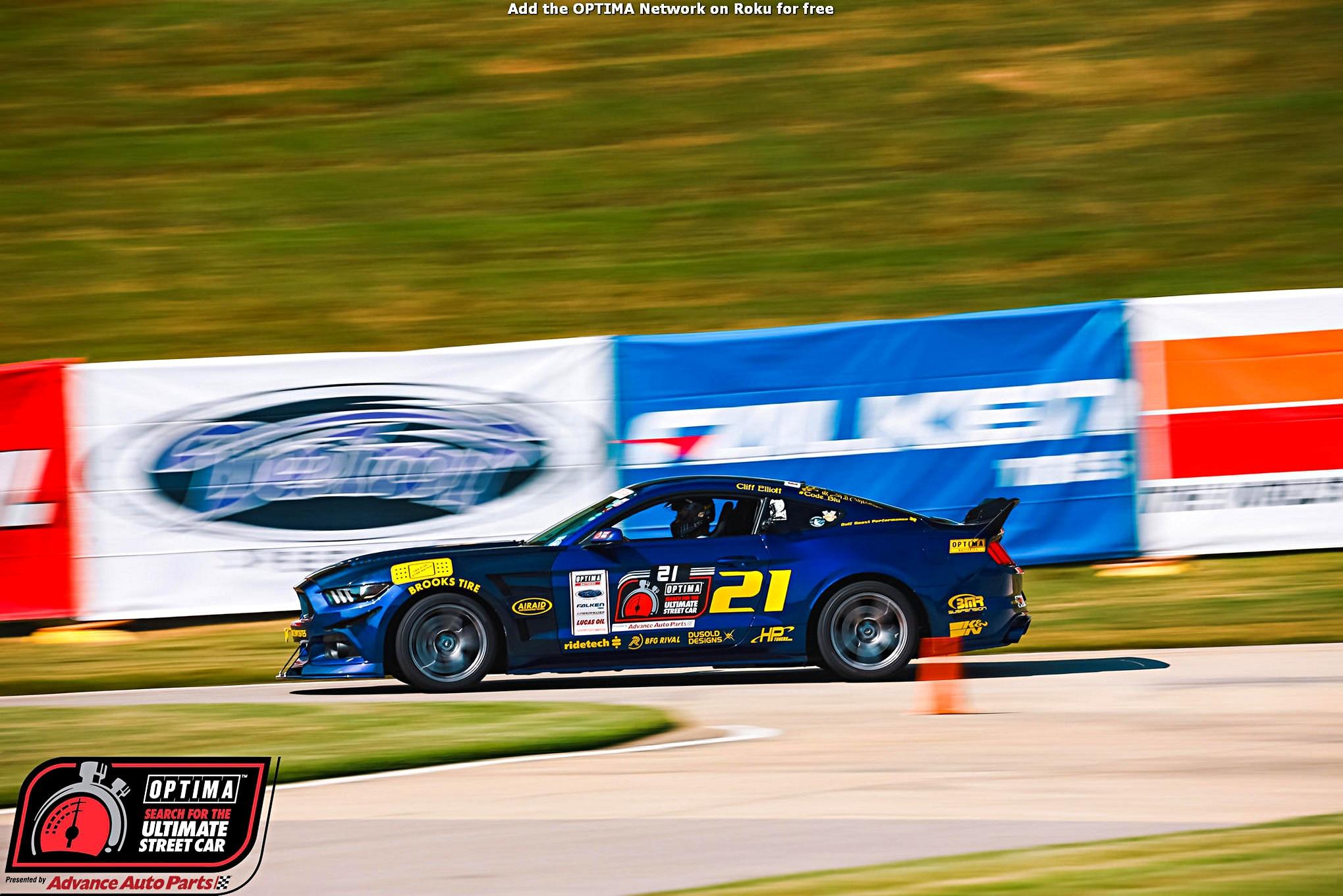 Cliff Elliott 2016 Ford Mustang DriveOPTIMA Barber Motorsports Park 2018 678