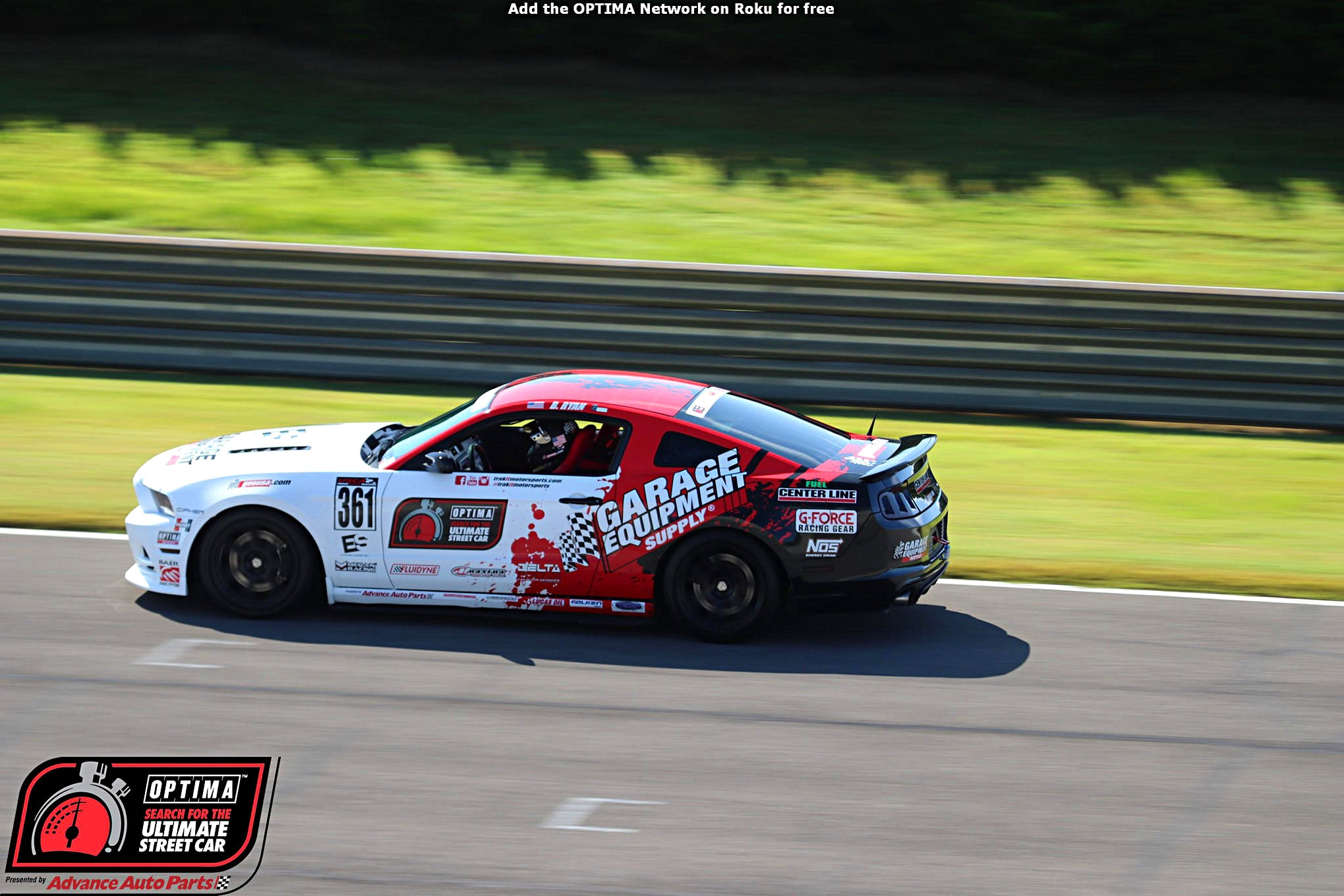 Bret Milam 2014 Ford Mustang DriveOPTIMA Barber Motosports Park 2018
