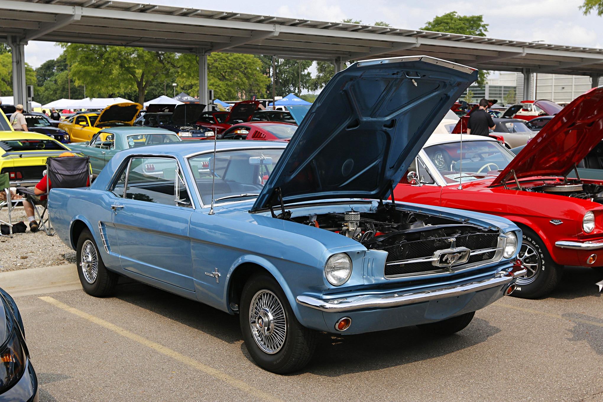 Mustang Memories Show 2018 172