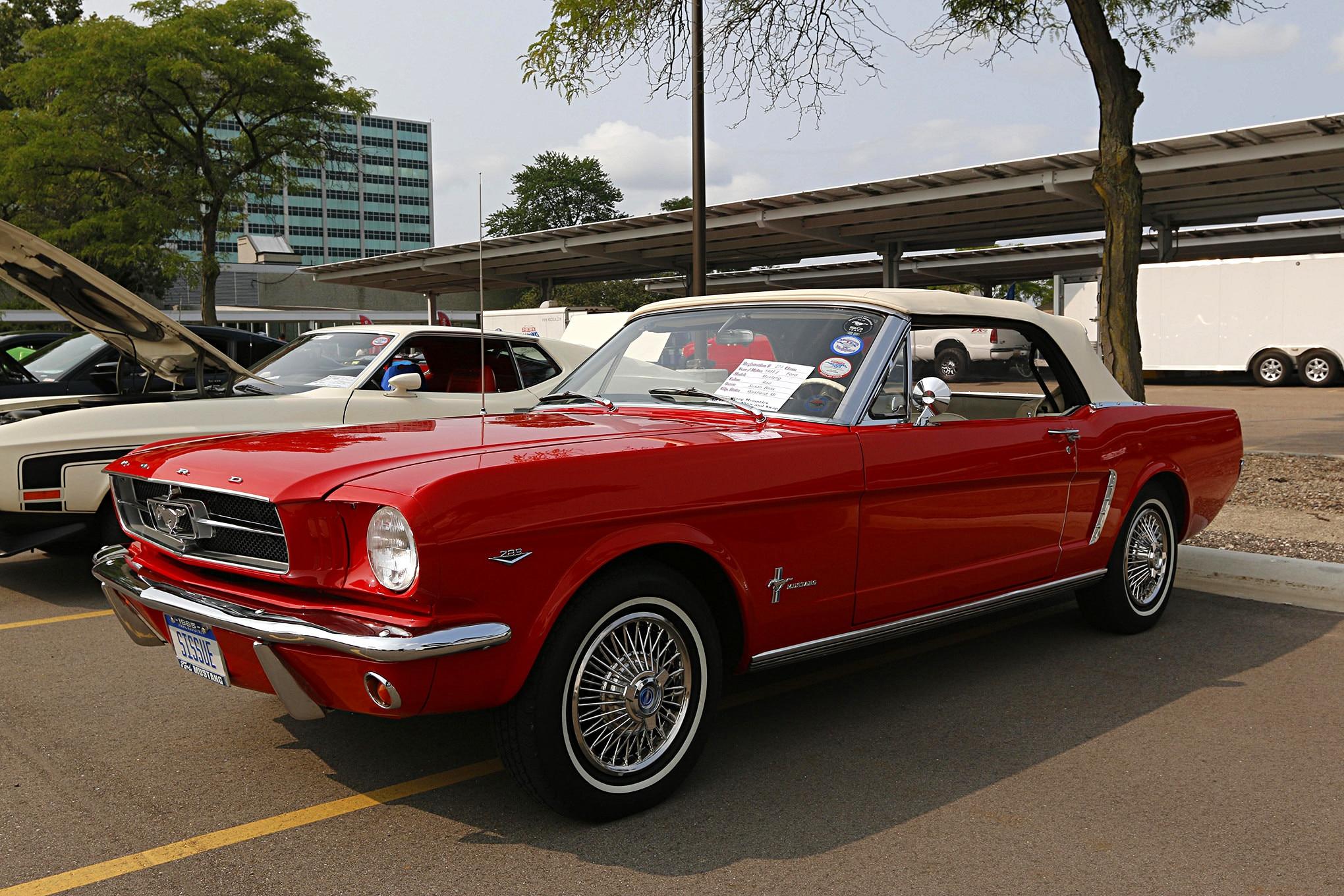 Mustang Memories Show 2018 091