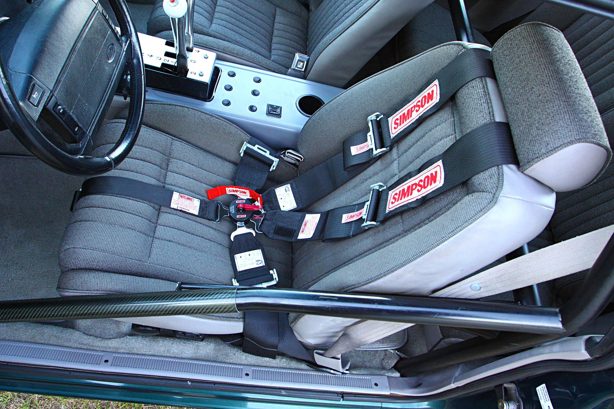 Jean Aiton 1992 Fox Body Seatbelts