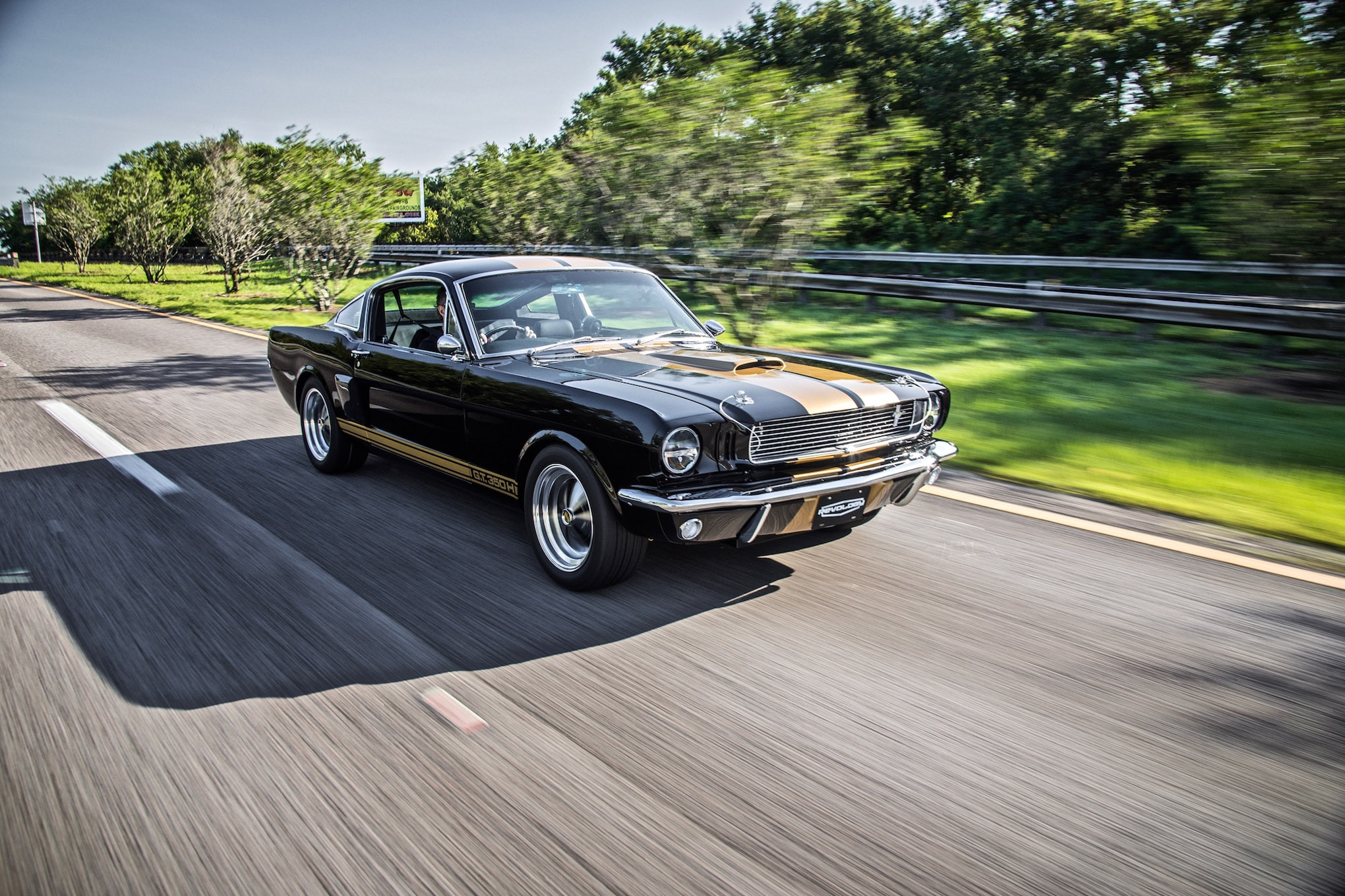 02 revology cars 1966 shelby gt350h ford mustang replica right hand