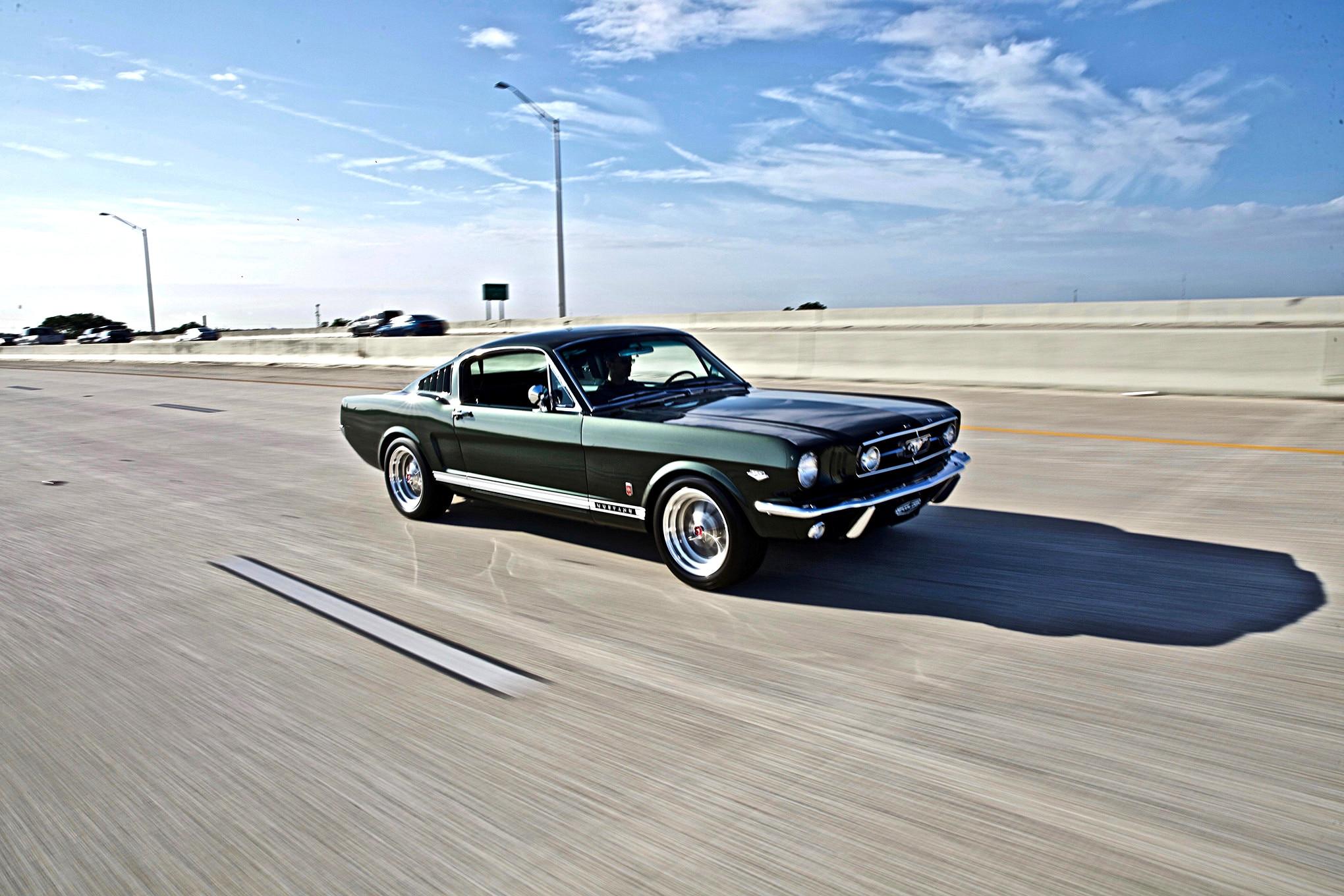 Revology cars 1965 ford mustang gt 2 2 fastback replica right front