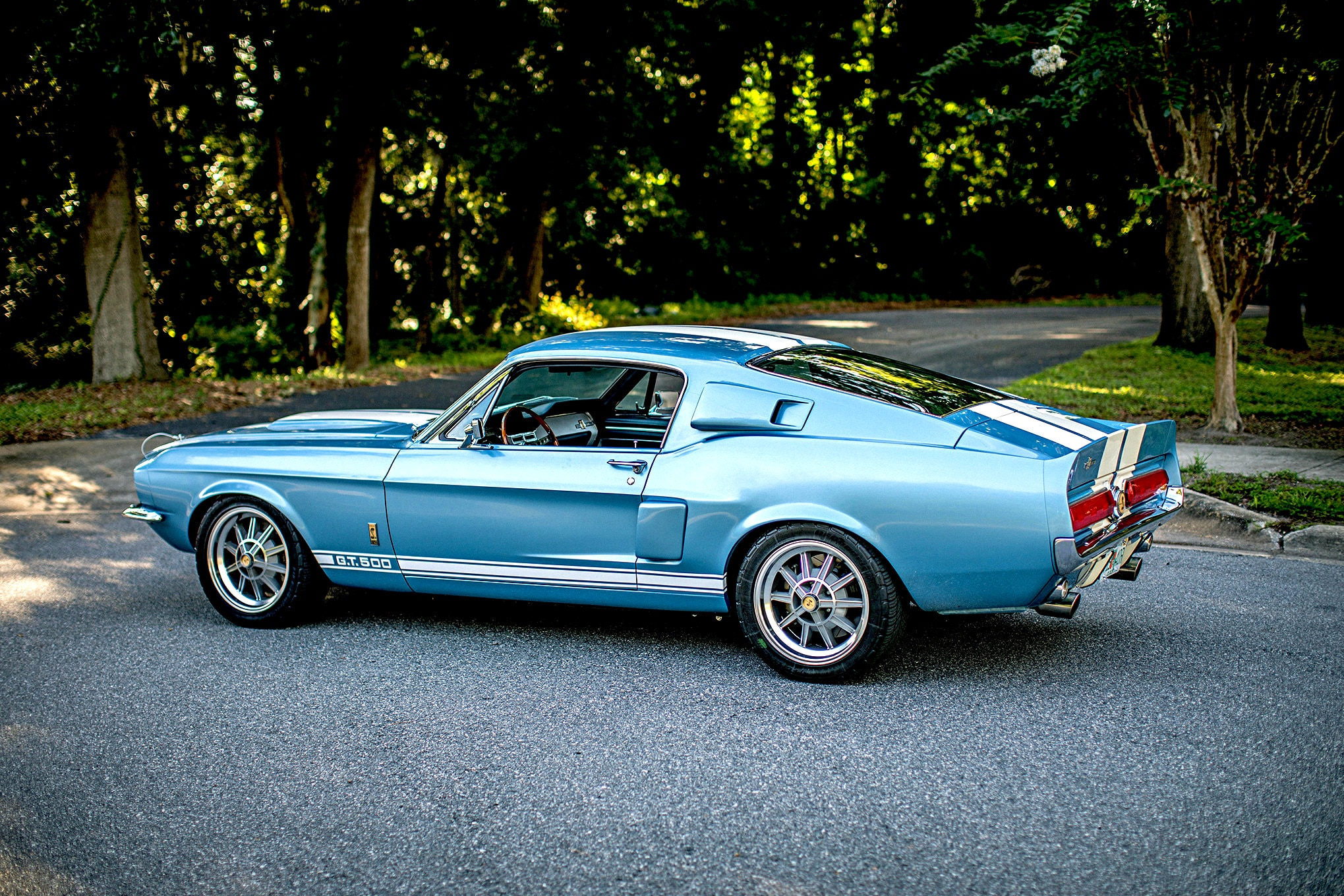 Revology Cars 1967 Shelby Gt500 Ford Mustang Fastback Replica Profile Photo 259215245 Revology Cars Announces 2019 Updates To Replica Mustang Line