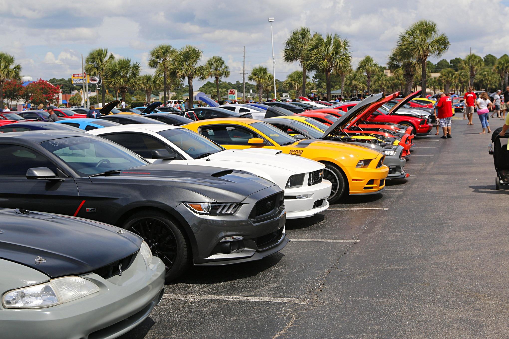 Mustang Week Meet N Greet 150