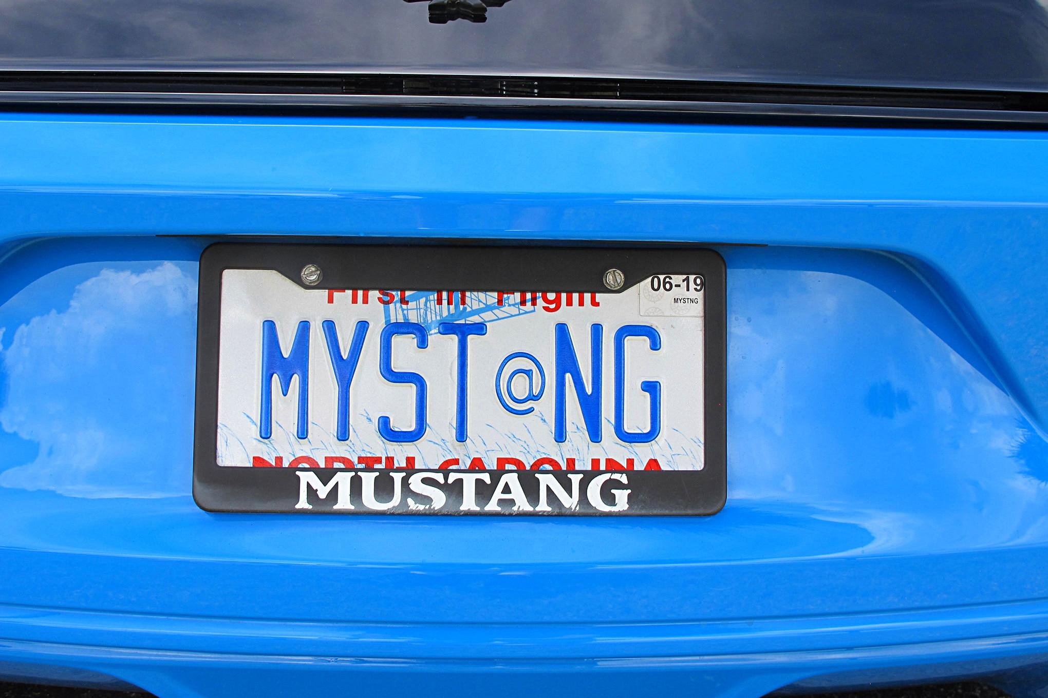 Mustang Week 2018 Vanity Plates 88