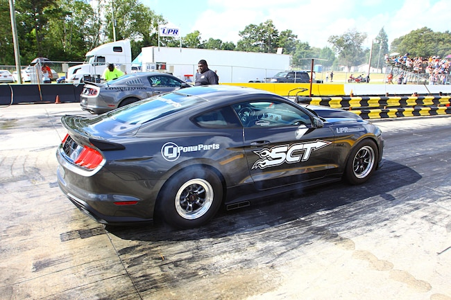 Mustang Week Drag Strip Lead