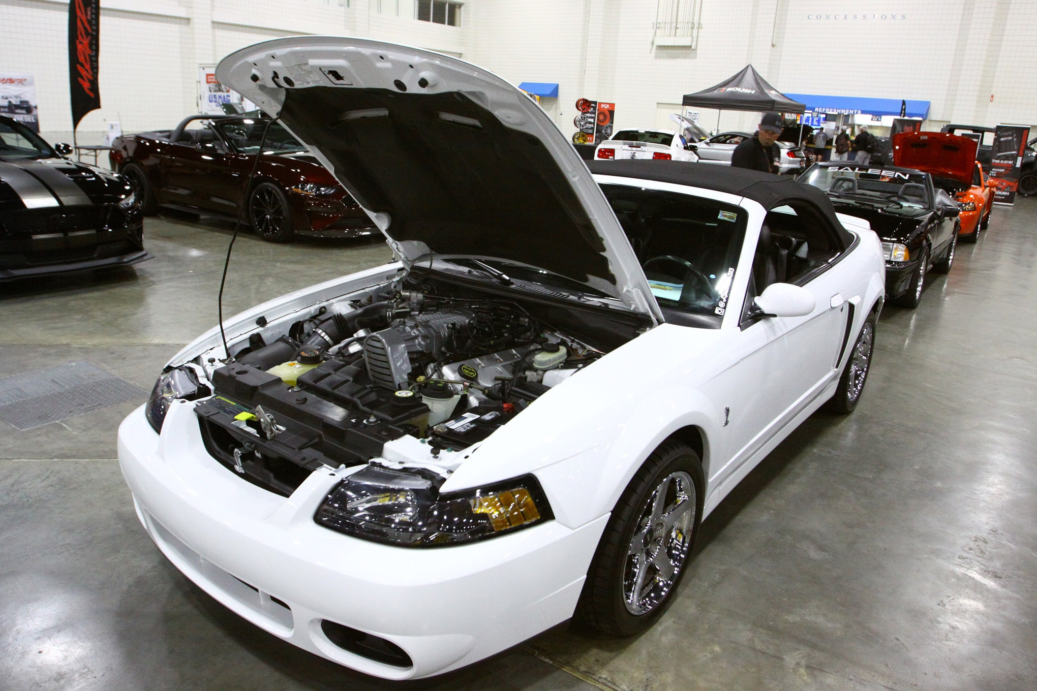 Friday CJ Pony Parts Mustang Week Car Show 153