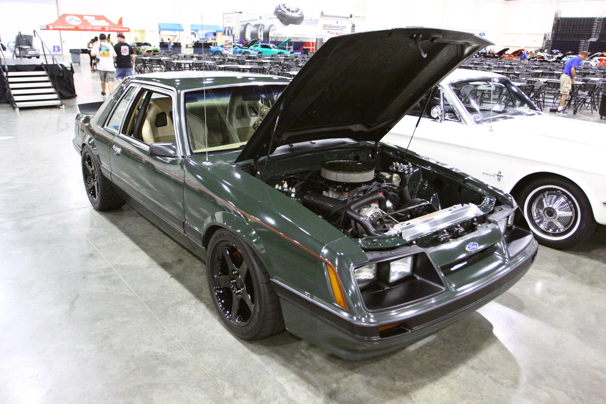 Friday CJ Pony Parts Mustang Week Car Show 149