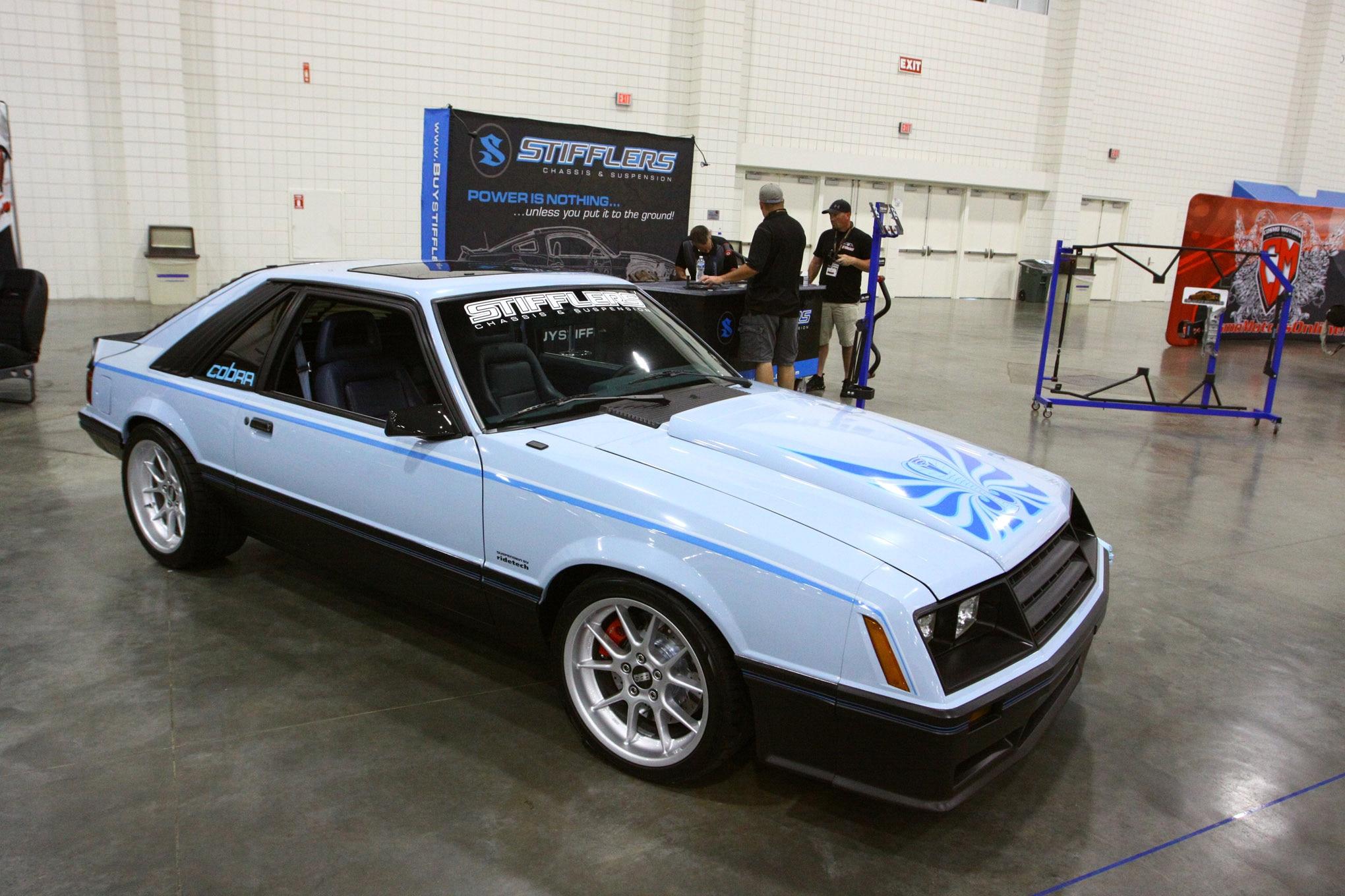 Friday CJ Pony Parts Mustang Week Car Show 145