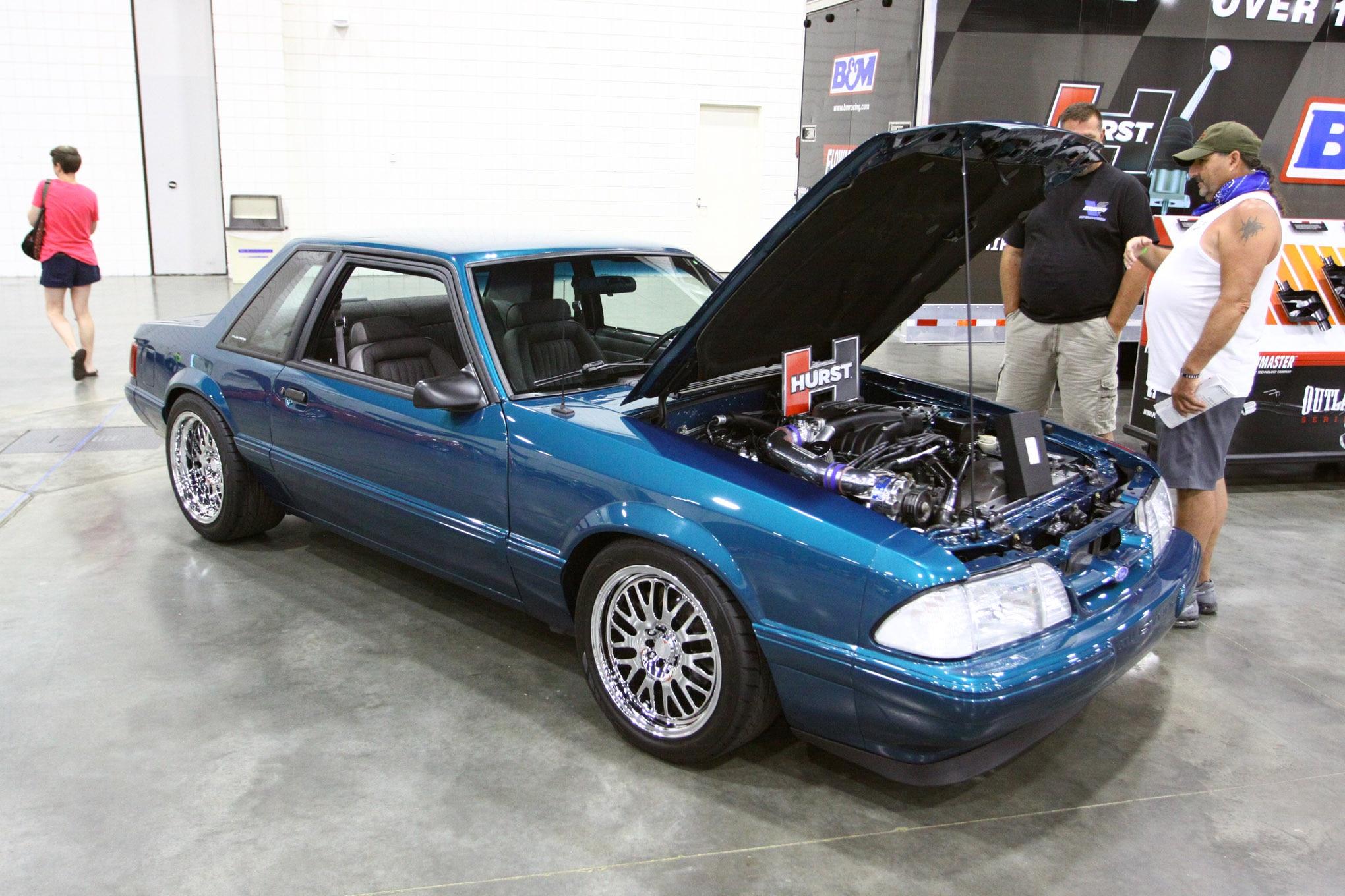 Friday CJ Pony Parts Mustang Week Car Show 142