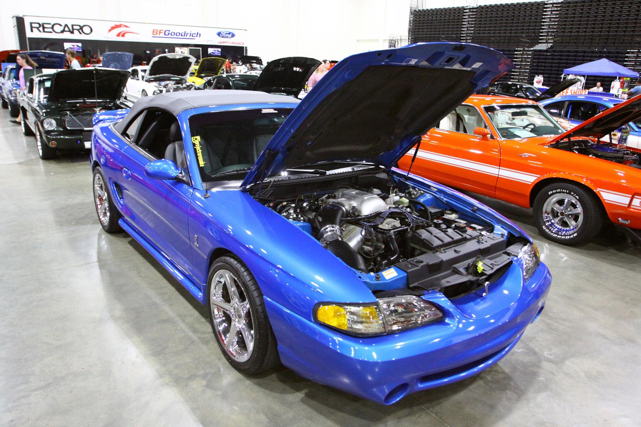 Friday CJ Pony Parts Mustang Week Car Show 127