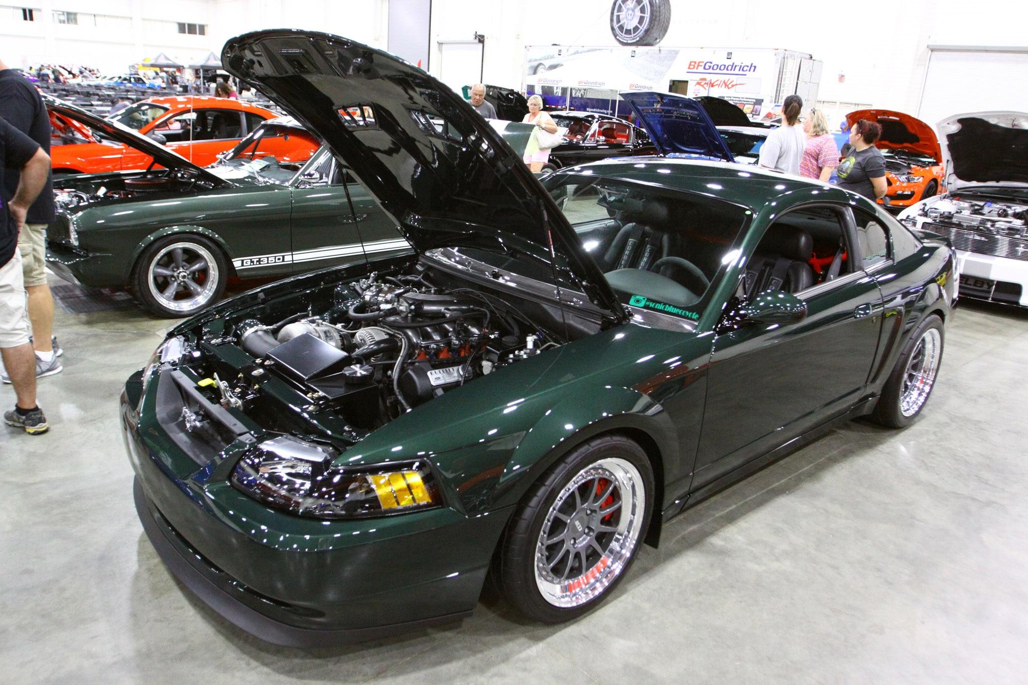 Friday CJ Pony Parts Mustang Week Car Show 123