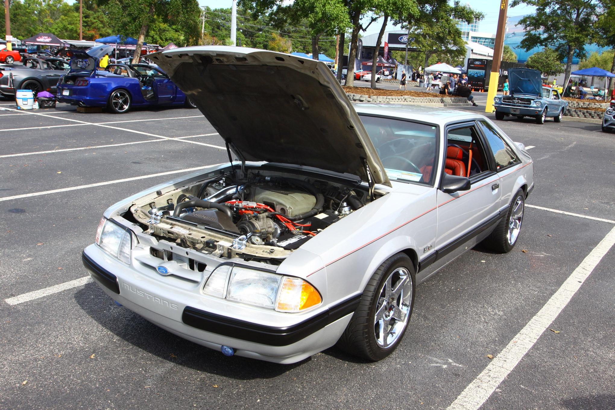 Friday CJ Pony Parts Mustang Week Car Show 97