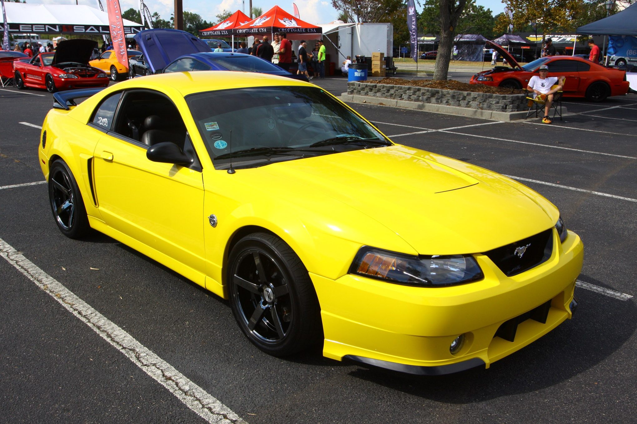 Friday CJ Pony Parts Mustang Week Car Show 95