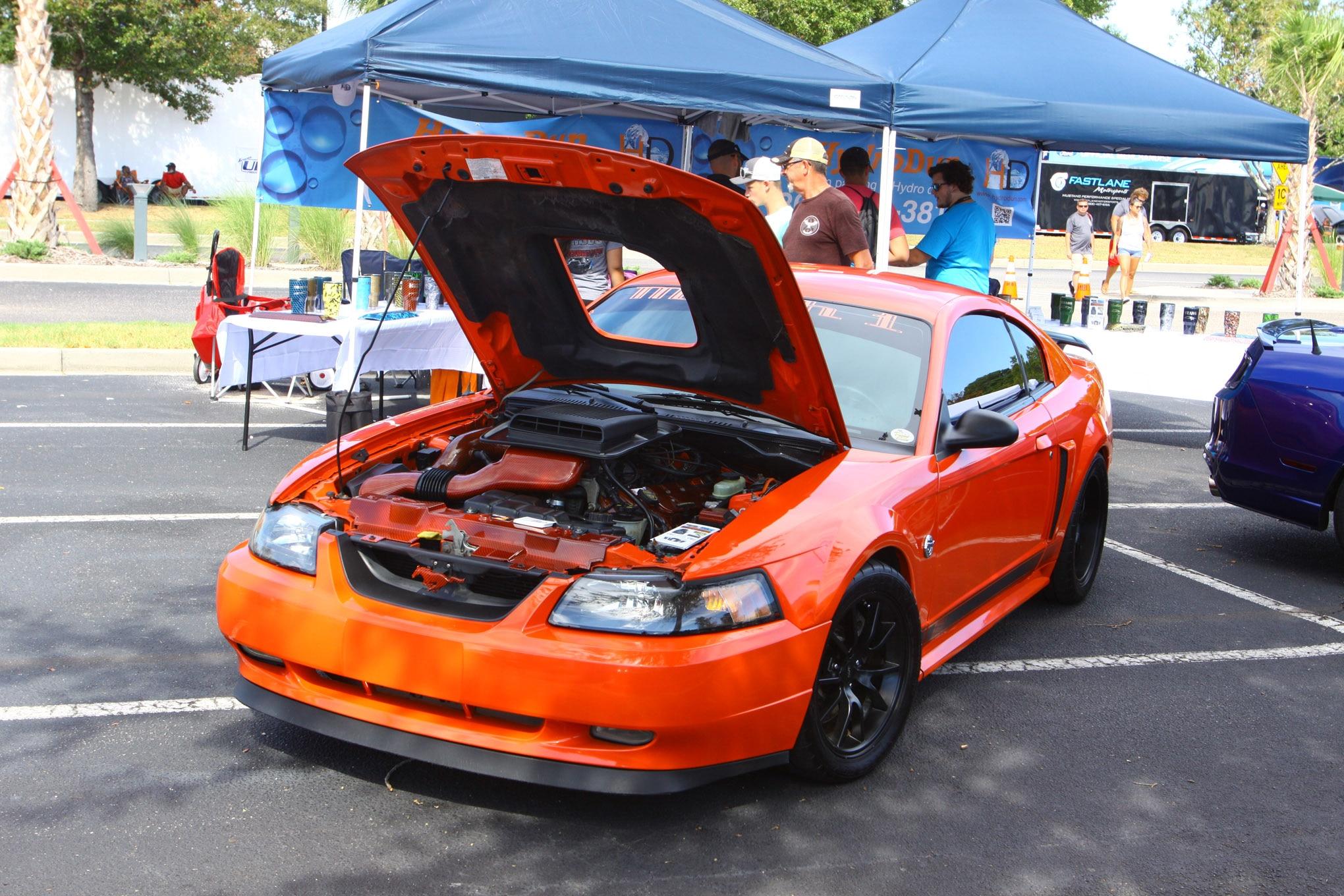 Friday CJ Pony Parts Mustang Week Car Show 94