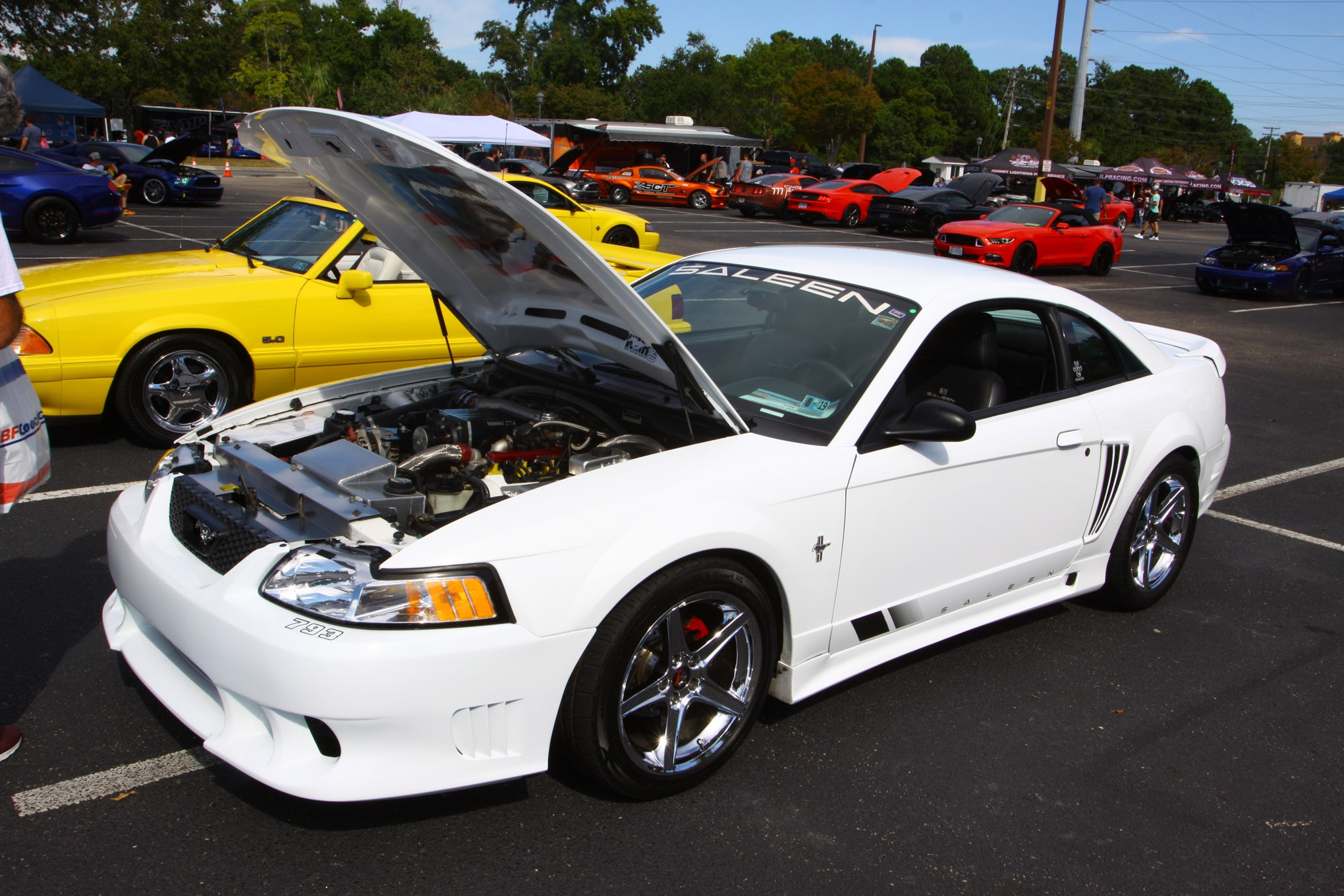 Friday CJ Pony Parts Mustang Week Car Show 91