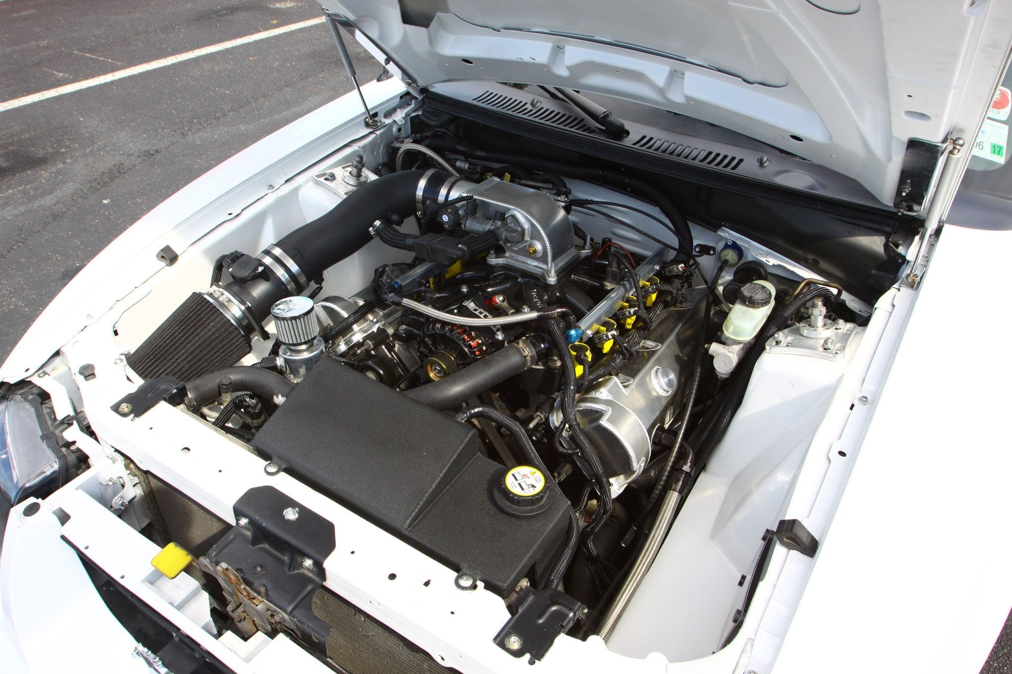 Friday CJ Pony Parts Mustang Week Car Show 85