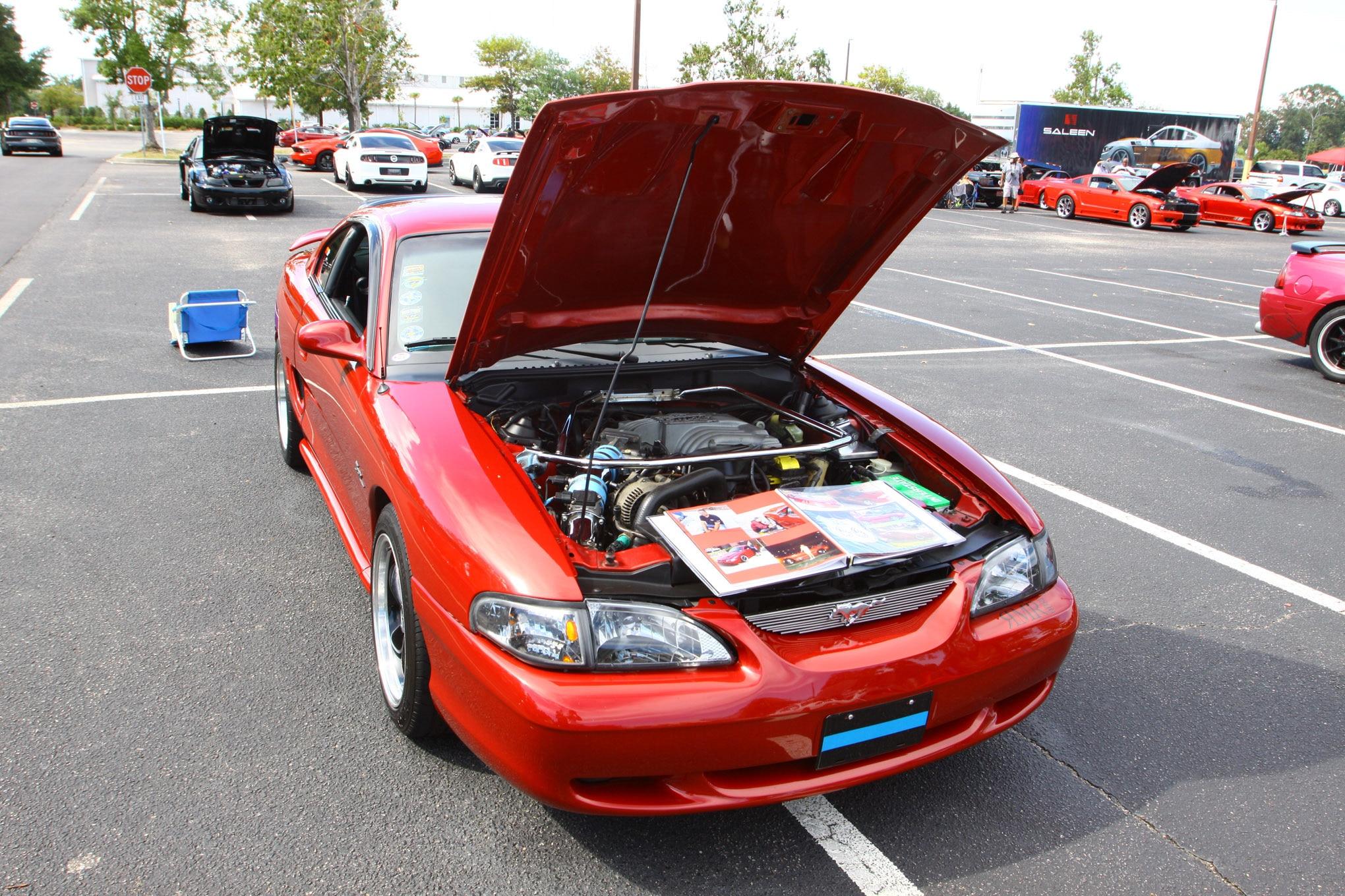 Friday CJ Pony Parts Mustang Week Car Show 83