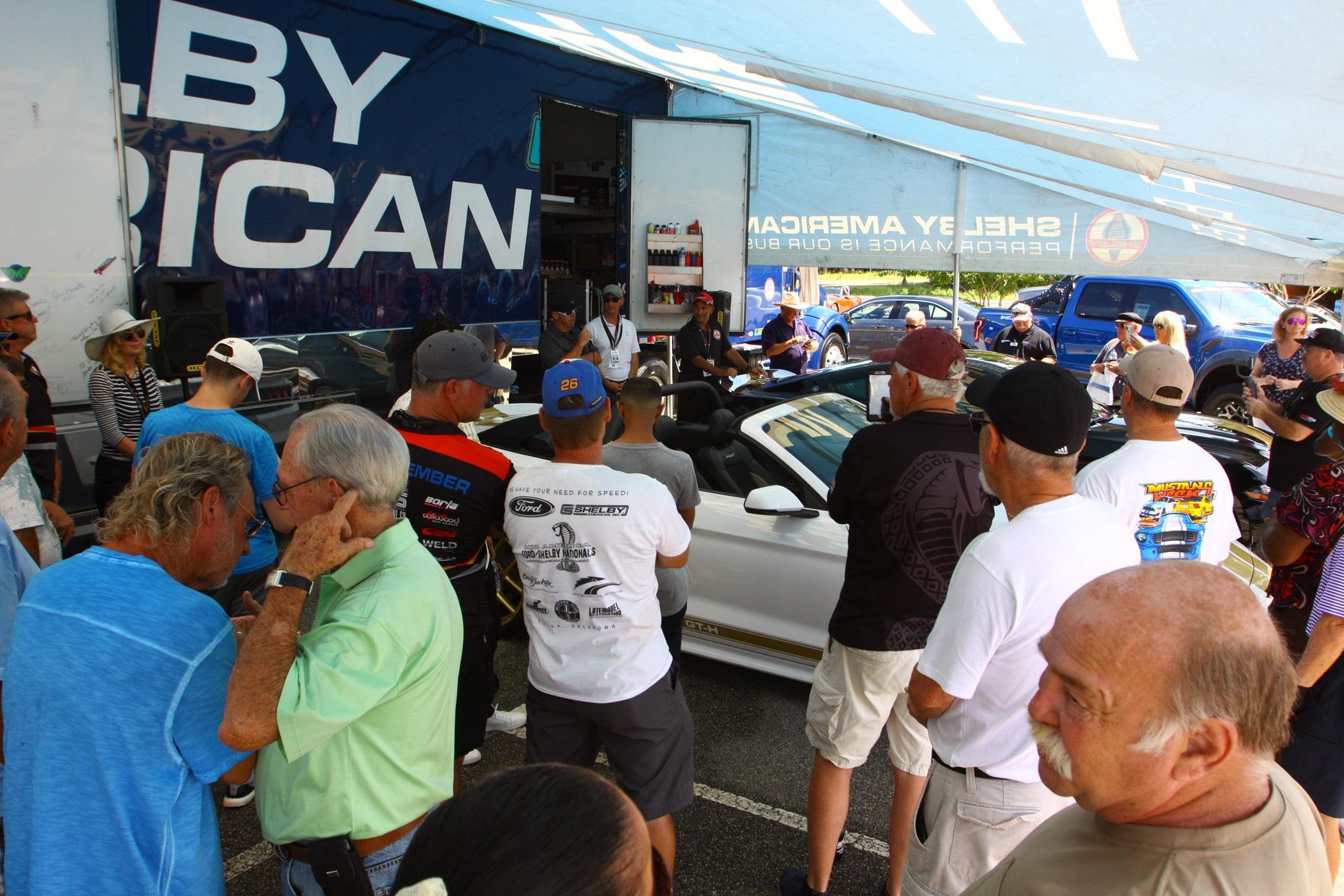 Friday CJ Pony Parts Mustang Week Car Show 75
