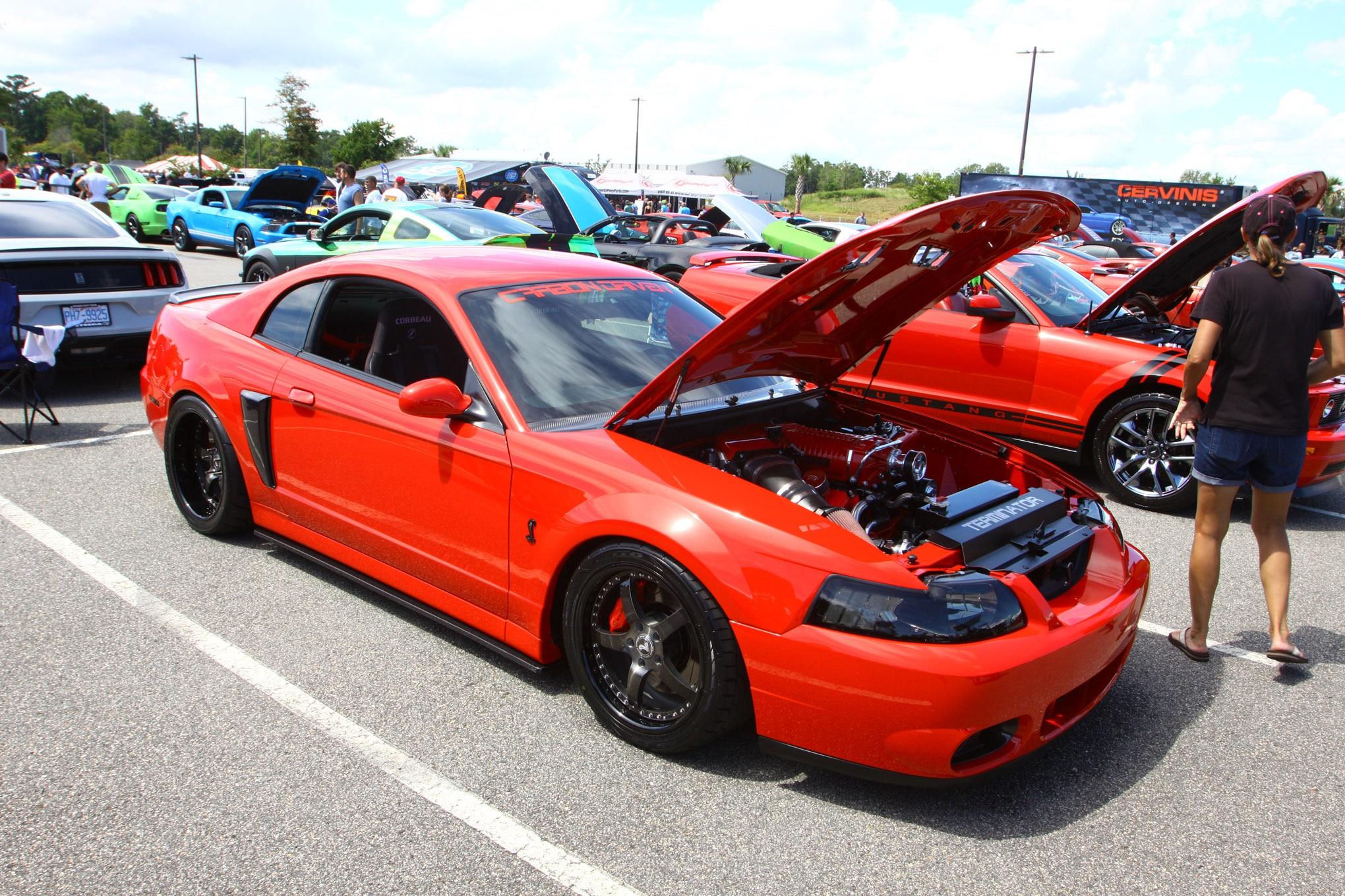 Friday CJ Pony Parts Mustang Week Car Show 73