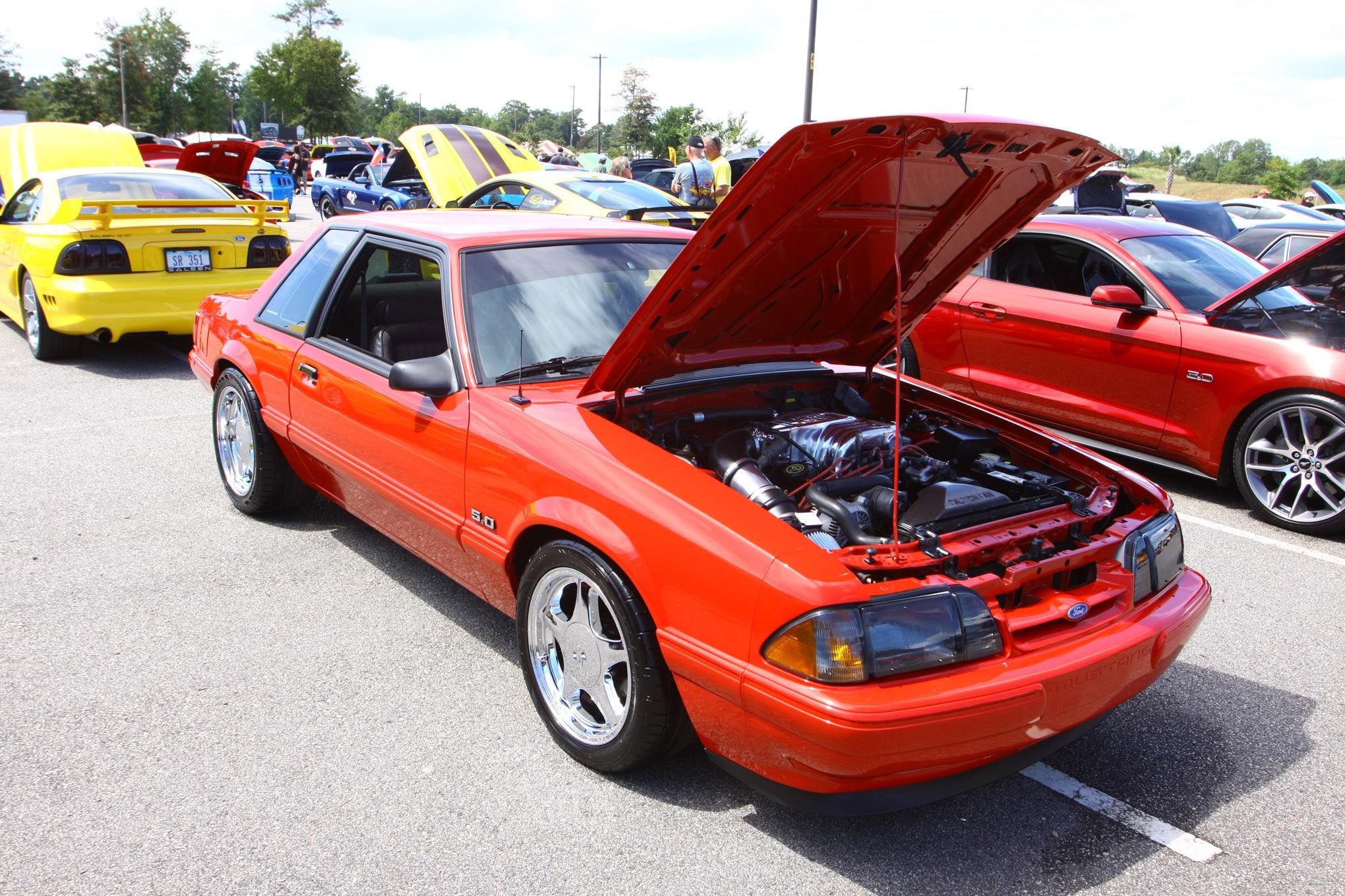 Friday CJ Pony Parts Mustang Week Car Show 72