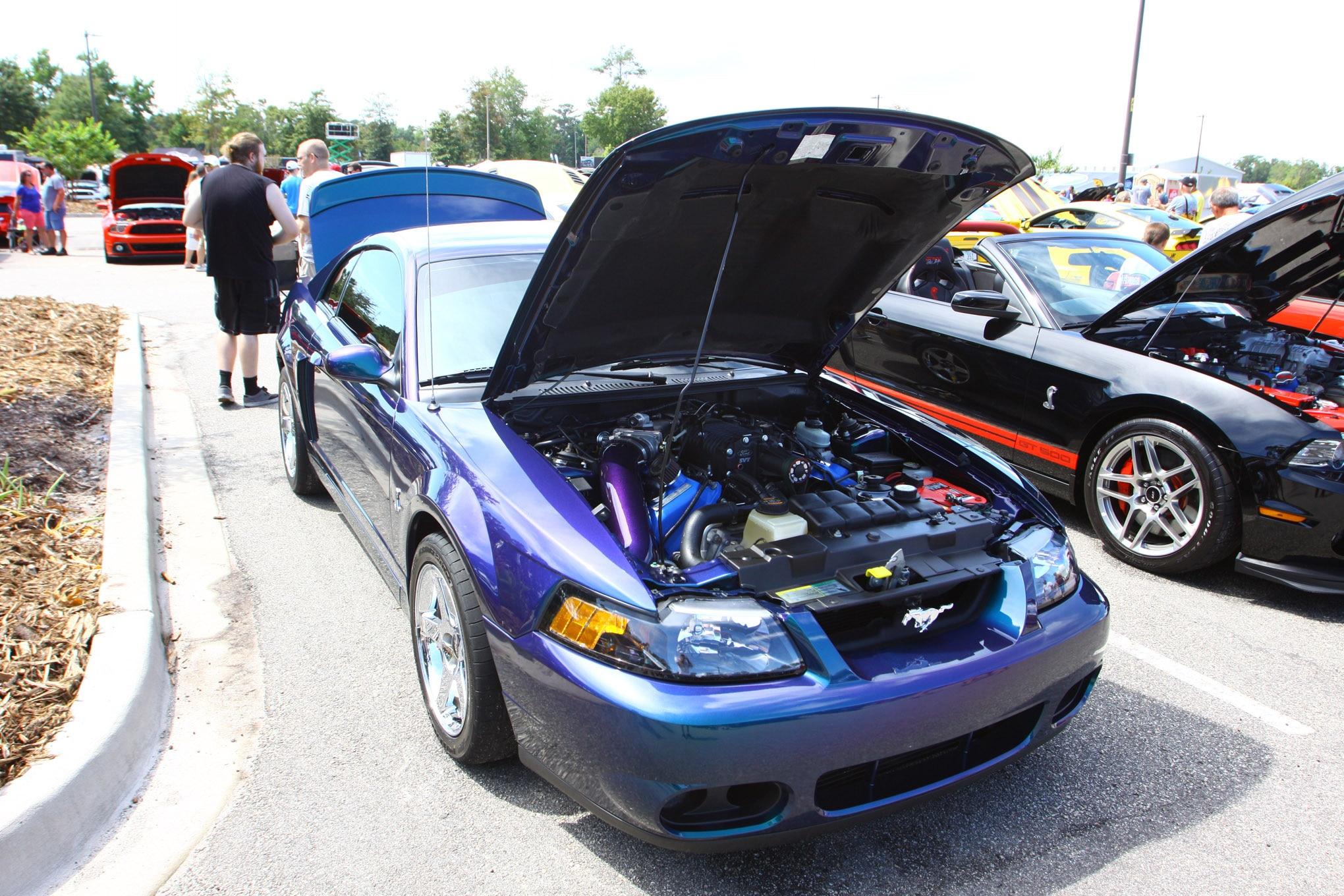 Friday CJ Pony Parts Mustang Week Car Show 71