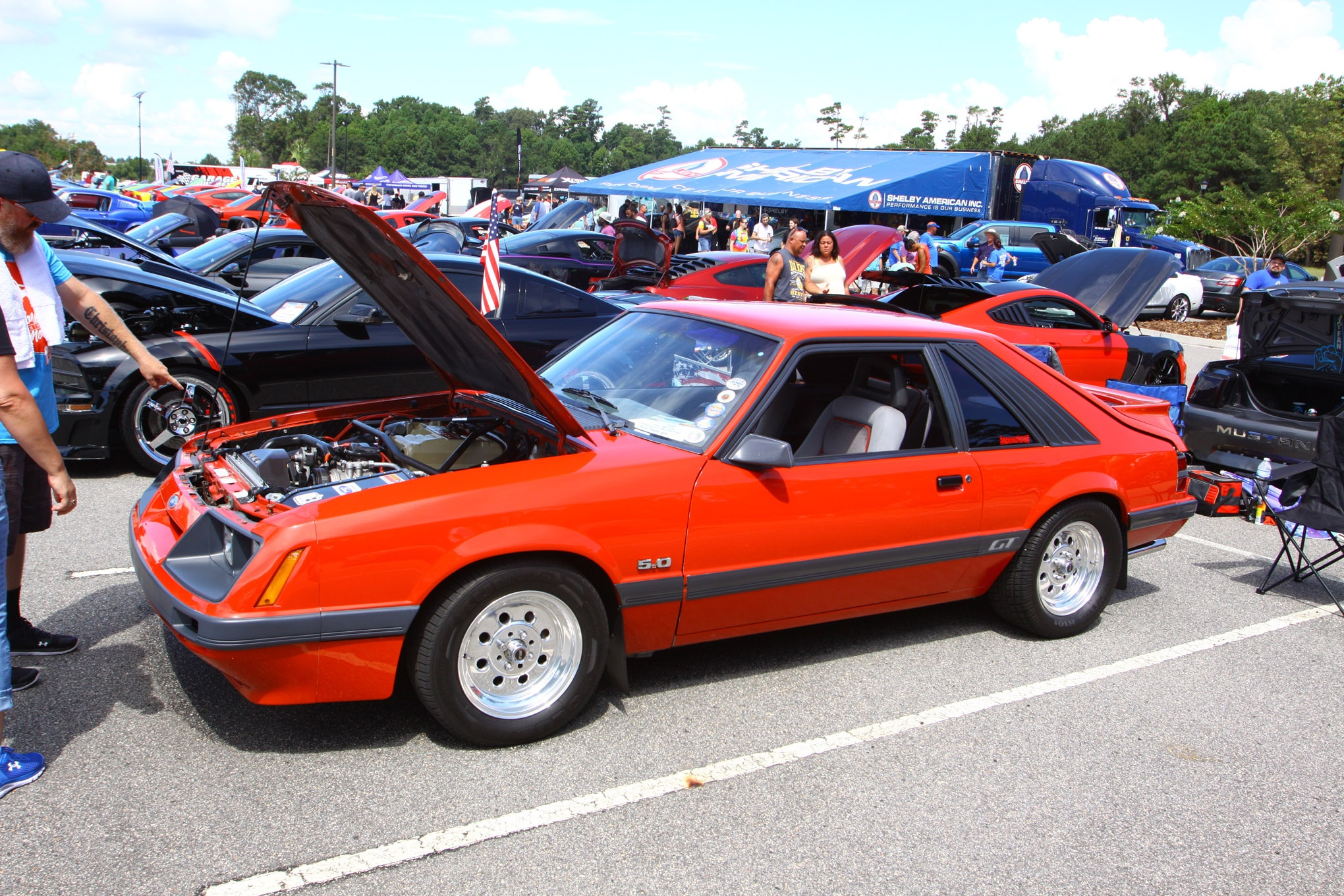 Friday CJ Pony Parts Mustang Week Car Show 70