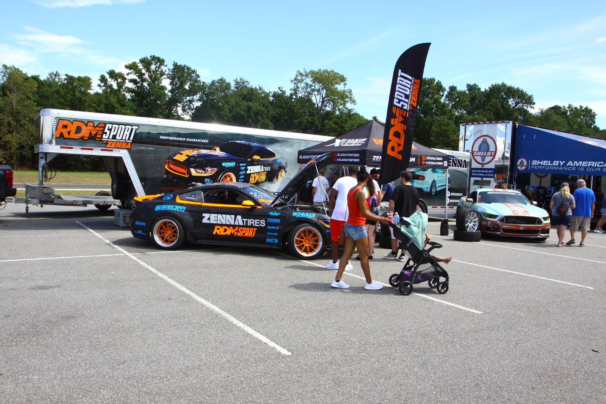 Friday CJ Pony Parts Mustang Week Car Show 68